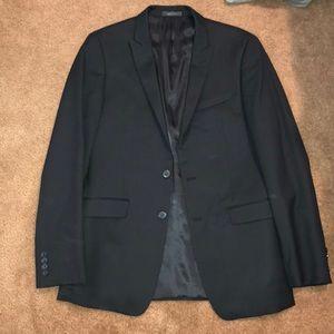 Calvin Klein extreme slim fit dark navy suit